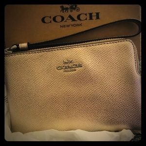 New! Coach Gold Wrislet